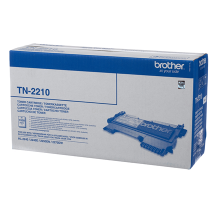 Brother TN-2210 Zwart
