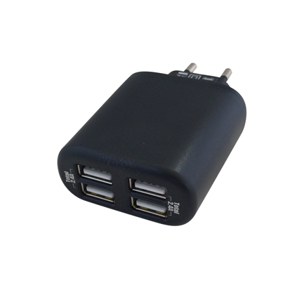 Scanpart Netvoeding adapter 4xUSB