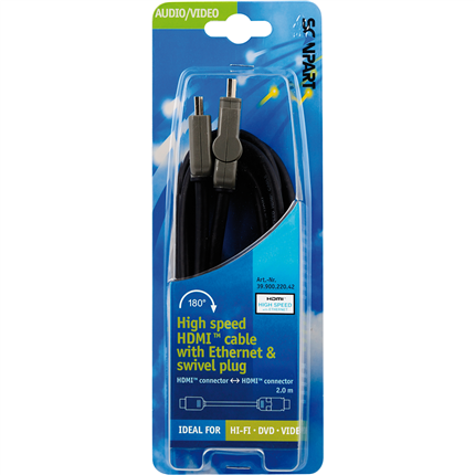 Scanpart High Speed HDMI (M)-(M) Kabel