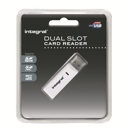 Integral Kaartlezer Stick SD/micro SD