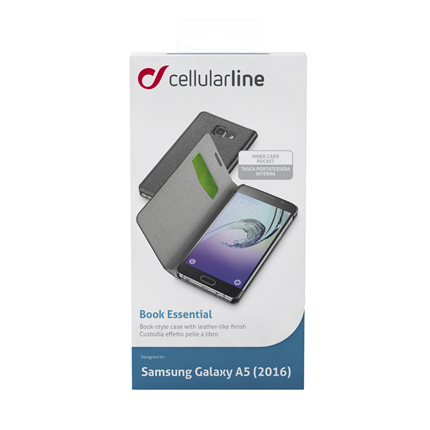 Cellular Line Samsung Bookcase Book Essential Zwart
