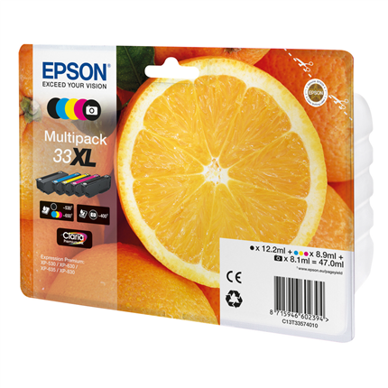 Epson Cartridge 33 XL Multipack