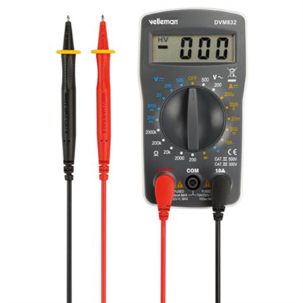 Velleman Digitale Multimeter Compact Model