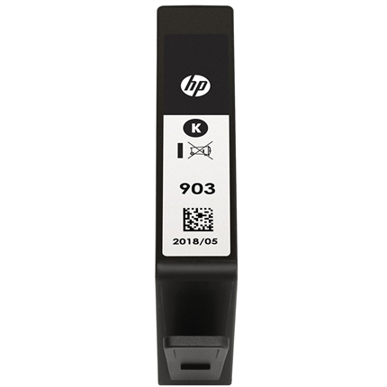 HP Cartridge Zwart 300 pagina's 903