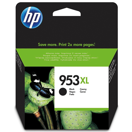 HP Cartridge Zwart 2000 pagina's 953XL