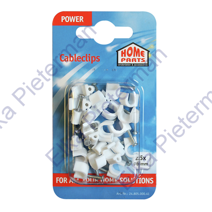 Homeparts Snoerclips 6MM