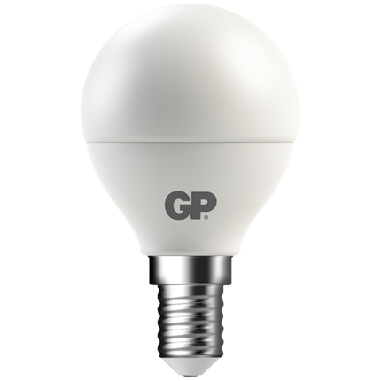 Gp Led Lamp E14 6W 470Lm Kogel Mat