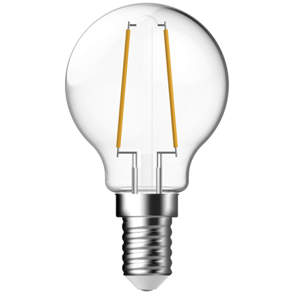 GP Ledlamp Mini Globe E14 2W Filament