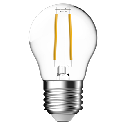 Gp Led Lamp E27 4W 470Lm Kogel Filament