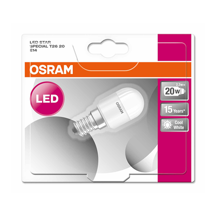 Osram Ledlamp T26 E14 2,3W Cool