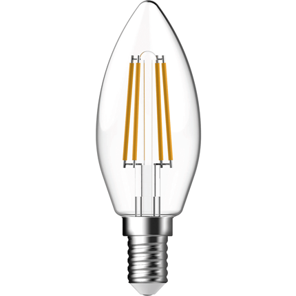 GP Ledlamp Mini Candle E14 5W Filament Dimbaar