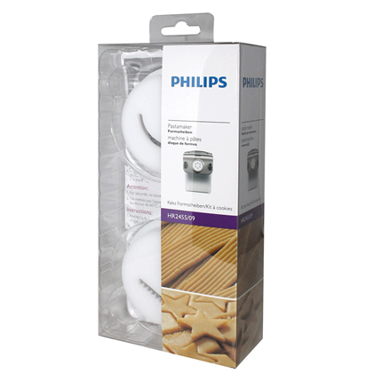 Philips Koekjesset Avance Collection HR2455 voor de pastamachine