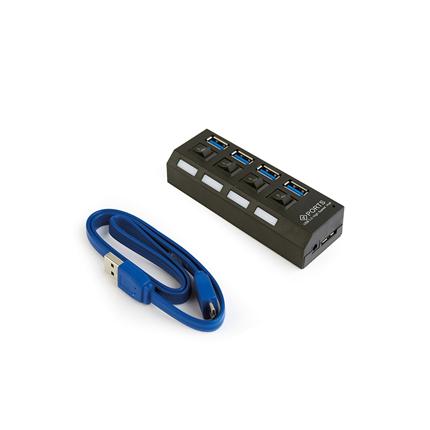 Gembird 4 poorts USB Hub 3.0