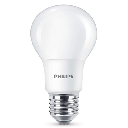 Philips Led Lamp E27 6W 320lm Classic Flame Dimbaar