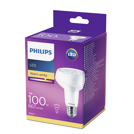 Philips Led R80 ww 40D Nd 100W E27