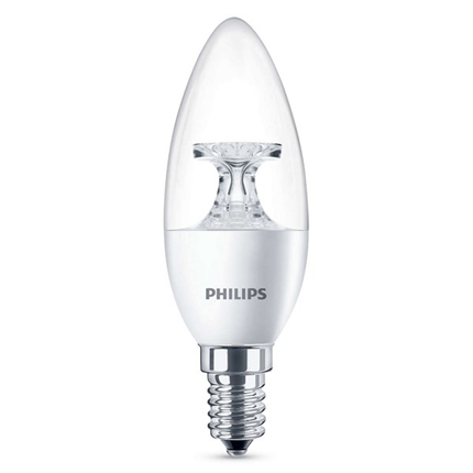 Philips Led Lamp E14 4W 250lm Kaars Helder
