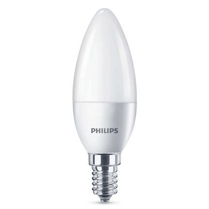 Philips Led Lamp E14 4W 250lm Kaars Mat