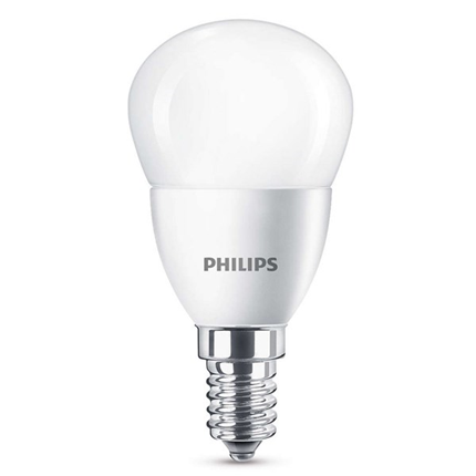 Philips Led Lamp E14 4W 250lm Kogel Mat