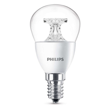 Philips Led Lamp E14 5,5W 470lm Kogel Helder