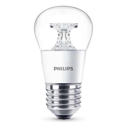 Philips Led Lamp E27 5,5W 470lm Kogel Helder