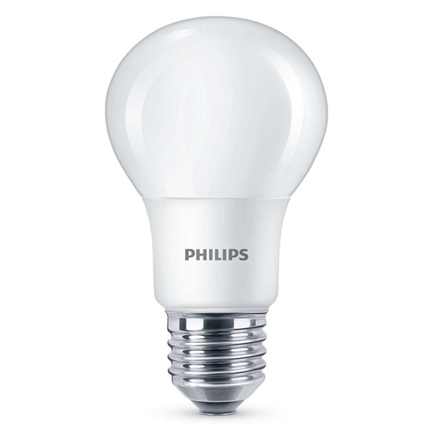 Philips Led Lamp E27 6W 470lm Kogel Mat Dimbaar