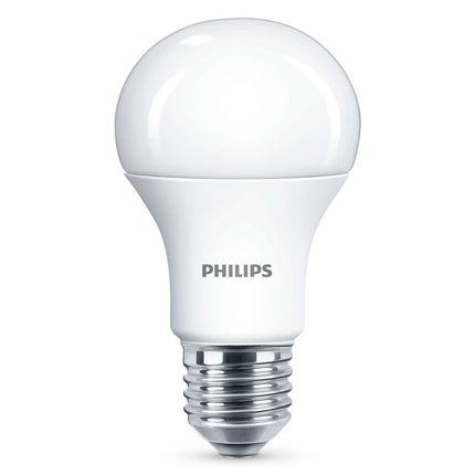 Philips Led Lamp E27 11,5W 1055lm Kogel Mat Dimbaar