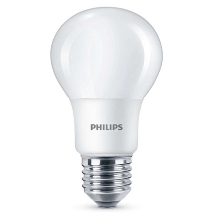 Philips Led Lamp E27 8W 806lm Classic Mat 2 Stuks