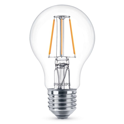 Philips Led Lamp E27 4W 470lm Classic Filament