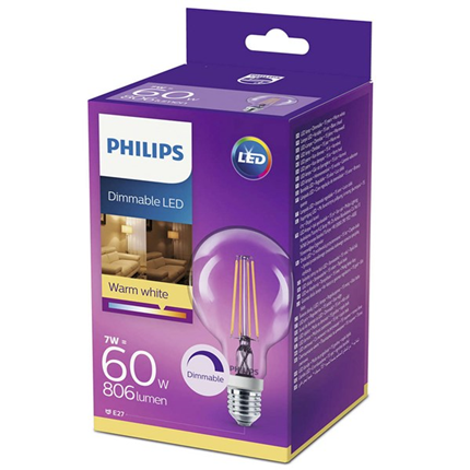 Philips Ledci G93 ww Cl D 60W  E27