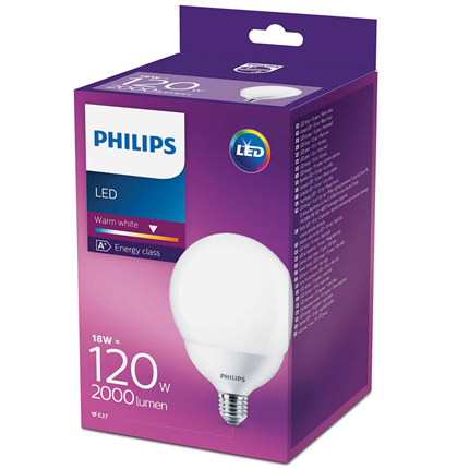 Philips Led G120 ww Nd 120W E27