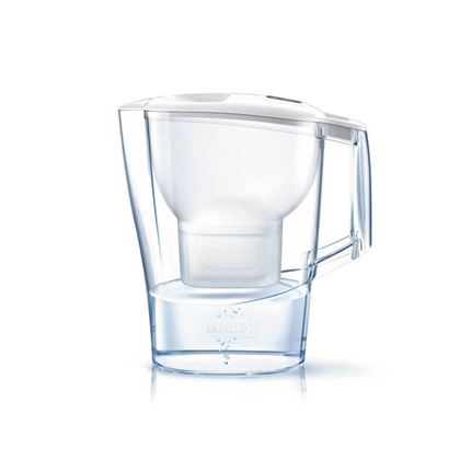 Brita Waterfilterkan Aluna Cool Wit 2,4L