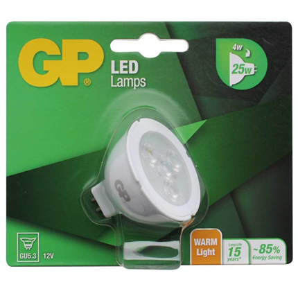 GP LED Lamp GU5.3 4W 253Lm Reflector