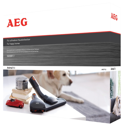 AEG Borstelset Voor Dierenharen Animal Care Kit 36mm