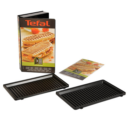 Tefal Grill-/Paniniplaten XA800312 Snack Collection