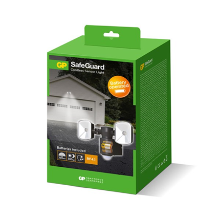GP Safeguard Sensorlamp RF4.1 260 Lumen