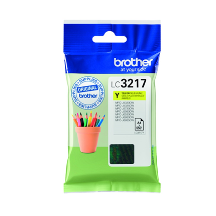 Brother Cartridge Geel LC-3217