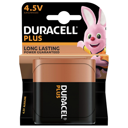 Duracell Alkaline Plus Power 4,5V
