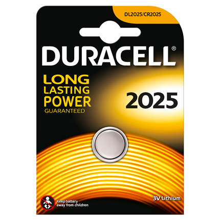 Duracell DL2025 Knoopcel Lithium