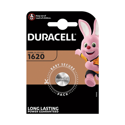 Duracell Knoopcel Lithium DL1620
