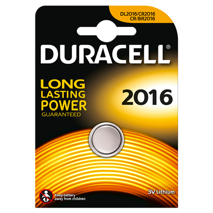 Duracell Knoopcel Lithium DL2016