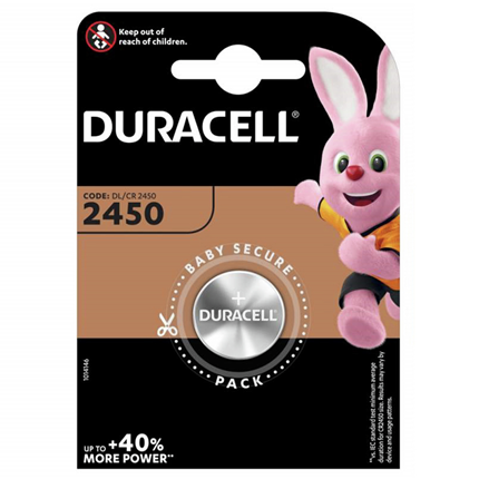 Duracell DL2450 Knoopcel Lithium