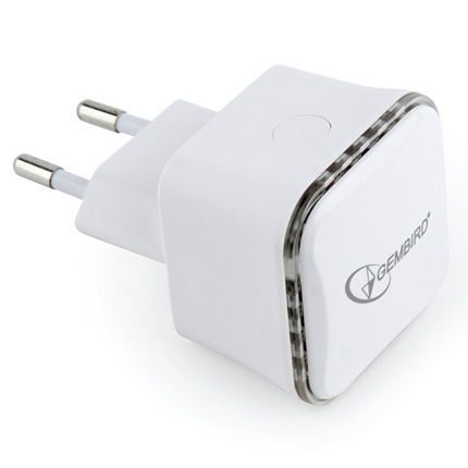Gembird Draadlode WiFi Repeater RP300-1 Wit