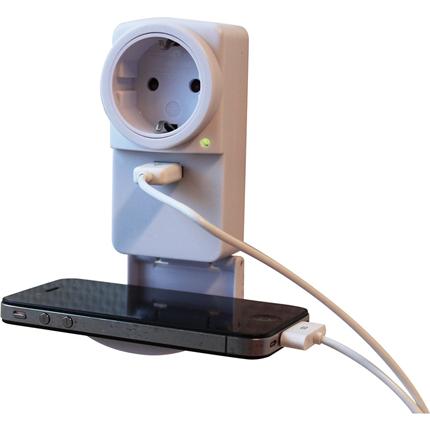 Exin Doorsteekstekker + USB