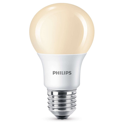 Philips LED Lamp E27 8,5W Flame