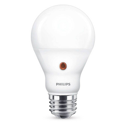 Philips LED Lamp E27 7,5W Met Sensor