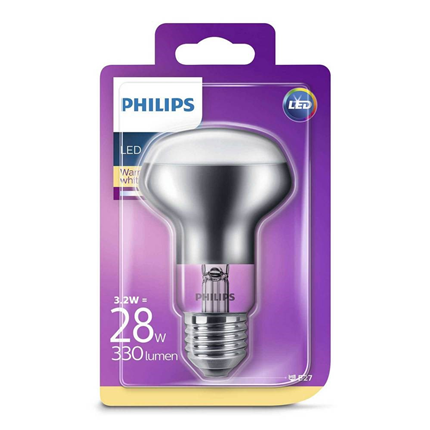 Philips LED Lamp E27 3,2W