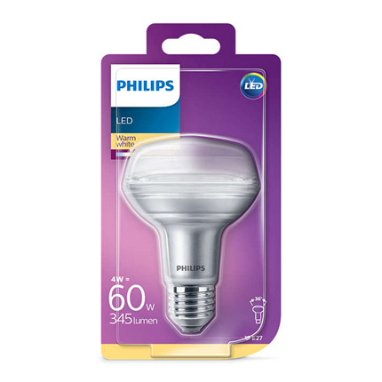 Philips LED Lamp E27 5W