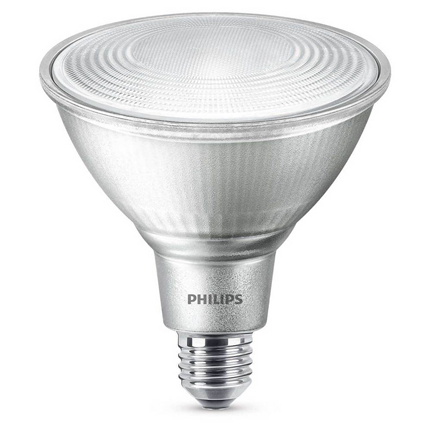 Philips LED Lamp E27 13W PAR38 Dimbaar