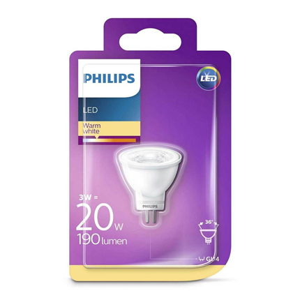 Philips LED Lamp G4 3W
