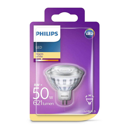 Philips LED Lamp GU5.3 8W